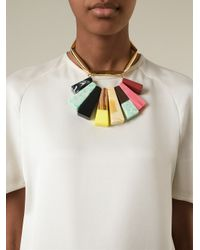 Stella McCartney | Multicolor 'mixed Stones' Necklace | Lyst