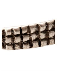 Saint Laurent | Metallic Armure Crocodile-Effect Bracelet for Men | Lyst
