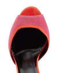 Pierre Hardy - Pink Suede Stilettos With Fringe Tassel - Multicolor - Lyst