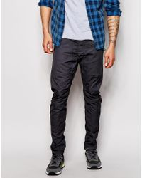Jack & Jones - Gray Anti Fit Chinos for Men - Lyst