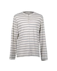 Golden Goose Deluxe Brand - Gray Long Sleeve T-shirt for Men - Lyst