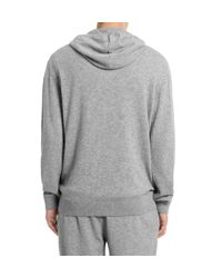 Sunspel | Gray Men's Cashmere Hoody for Men | Lyst