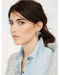 BaubleBar | Blue Versailles Ear Jackets | Lyst