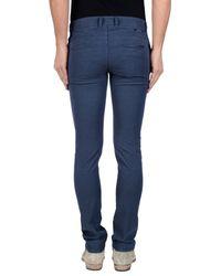 Siviglia - Blue Casual Trouser for Men - Lyst