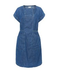 Paul by Paul Smith - Blue Wash Denim Shift Dress - Lyst