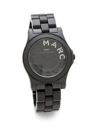 Marc By Marc Jacobs - Black Riviera Watch - Lyst
