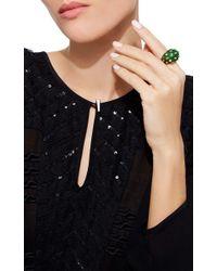 David Webb | Green Jackie Ring | Lyst