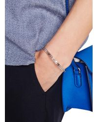Marc By Marc Jacobs - Metallic Silver-tone Cut-out Bracelet - Lyst