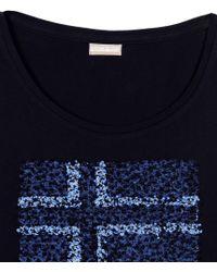 Napapijri   Blue Long Sleeve T-shirt   Lyst