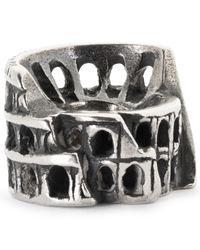 Trollbeads - Metallic Rome Colosseum Charm - Lyst