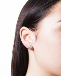 Carolina Bucci - Metallic Pearl And Large Star Stud Earring - Lyst