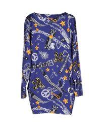 Love Moschino - Blue Shirt - Lyst