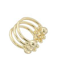DANNIJO | Metallic Phoebe Ear Cuff Earrings | Lyst