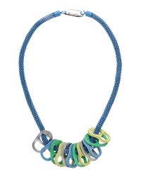 KENZO | Blue Necklace | Lyst