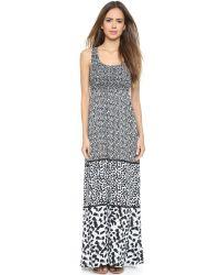 Ella Moss | Monet Maxi Dress - Black | Lyst