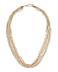 Nakamol | Natural Long Layered Mixed-bead Necklace | Lyst