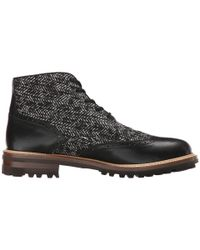 DSquared² | Black Othello Laced Up Ankle Boot for Men | Lyst
