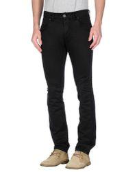 Gazzarrini | Black Casual Trouser for Men | Lyst