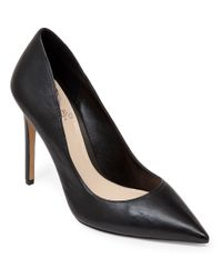 Vince Camuto | Black Norida Leather Pumps | Lyst