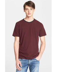 Rag & Bone - Black Ringer T-Shirt for Men - Lyst