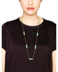 Kate Spade | Green Moon River Scatter Necklace | Lyst