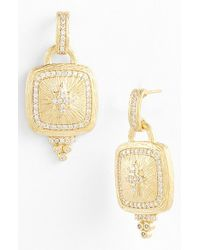Freida Rothman - Metallic 'metropolitan' Star Drop Earrings - Lyst