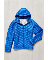 The North Face | Blue Thermoball Hoodie Jacket for Men | Lyst