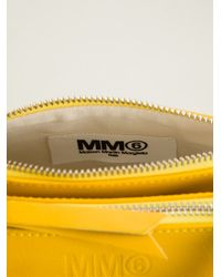 MM6 by Maison Martin Margiela - Yellow Round Cross Body Bag - Lyst