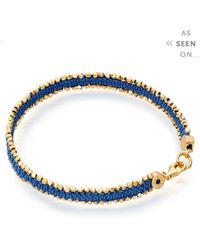 Astley Clarke | Blue Woven Biography Bracelet | Lyst