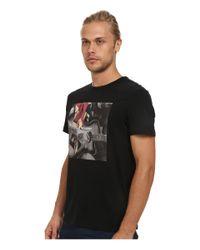 Ben Sherman | Black Short Sleeve Guitar Union Jack Tee Shirt Mb11812 for Men | Lyst