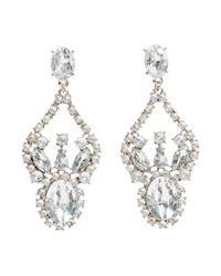 H&M | Metallic Sparkly Stone Earrings | Lyst