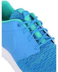 Nike   Blue Roshe Run Flyknit Prm Sneakers   Lyst