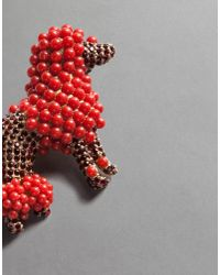 Dolce & Gabbana | Pink Poodle Brooch | Lyst