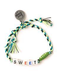 Venessa Arizaga | Green Sweet Pea Bracelet | Lyst