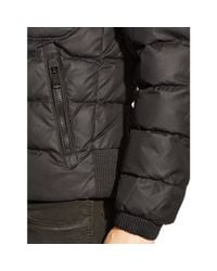 Ralph Lauren Black Label | Black Recruiter Waxed Down Jacket for Men | Lyst