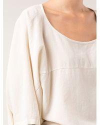Lacausa - White Kiki Tshirt - Lyst