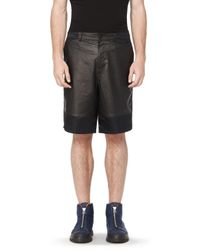 Alexander Wang - Black Bermuda for Men - Lyst