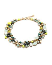 J.Crew | Multicolor Spring Bloom Necklace | Lyst