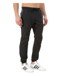 Adidas Originals | Black Sport Luxe Cuff Fleece Pant for Men | Lyst
