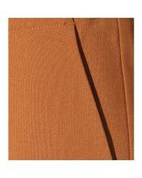 Michael Kors | Brown Wool-blend Trousers | Lyst