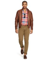Polo Ralph Lauren | Brown Leather Barracuda Jacket for Men | Lyst