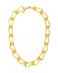 BaubleBar | Metallic Knotty Links Collar | Lyst