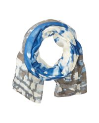 Michael Stars - Blue Urban Canvas Scarf - Lyst