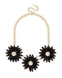 BaubleBar - Black Petunia Collar - Lyst