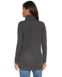 Velvet - Gray Frenchie Sweater - Lyst