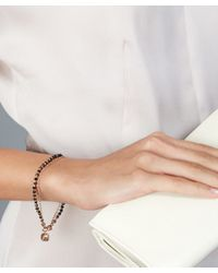Astley Clarke | Gray Prosperity 18k Rose Gold Pyrite Friendship Bracelet - Energy  Prosperity | Lyst