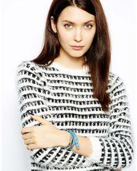 Whistles | Blue Double Wrap Bracelet | Lyst
