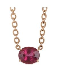 Irene Neuwirth | Pink Gemstone Pendant Necklace | Lyst