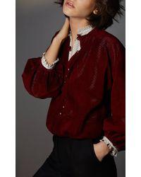 Vilshenko - Purple Marie Jo Fine Wool Cashmere Culottes - Lyst