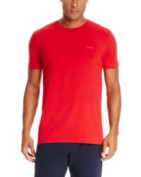 BOSS Green | Red 'n-tianox' | Stretch Cotton for Men | Lyst